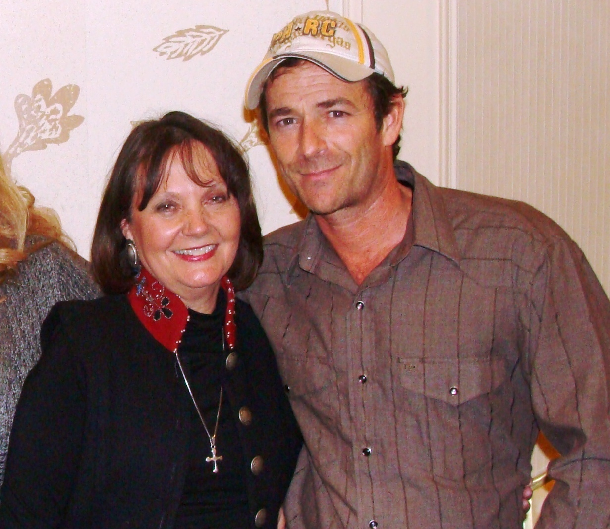 Donnalyn with Luke Perry